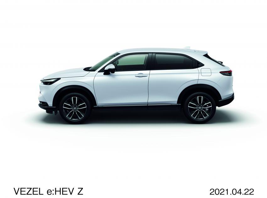Honda HR-V 2022 rasmi dilancarkan di Jepun – bermula RM87k, pilihan enjin 1.5L NA dan hibrid e:HEV Image #1286198
