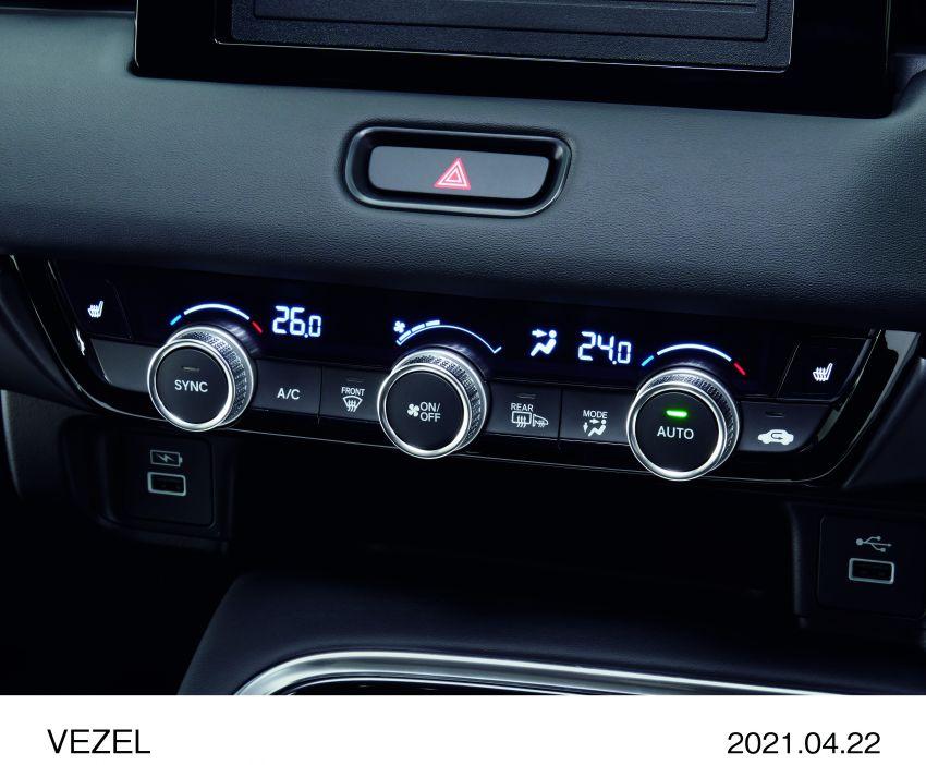 Honda HR-V 2022 rasmi dilancarkan di Jepun – bermula RM87k, pilihan enjin 1.5L NA dan hibrid e:HEV Image #1286246