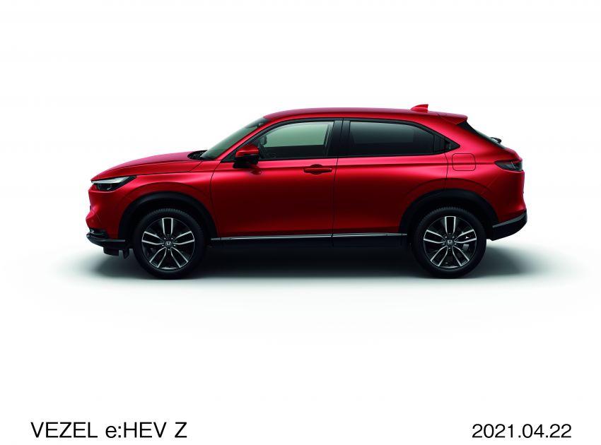 Honda HR-V 2022 rasmi dilancarkan di Jepun – bermula RM87k, pilihan enjin 1.5L NA dan hibrid e:HEV Image #1286200