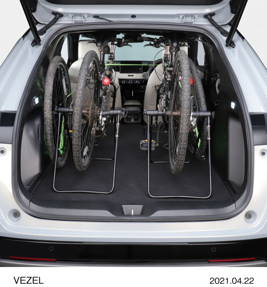 Honda HR-V 2022 rasmi dilancarkan di Jepun – bermula RM87k, pilihan enjin 1.5L NA dan hibrid e:HEV Image #1286266