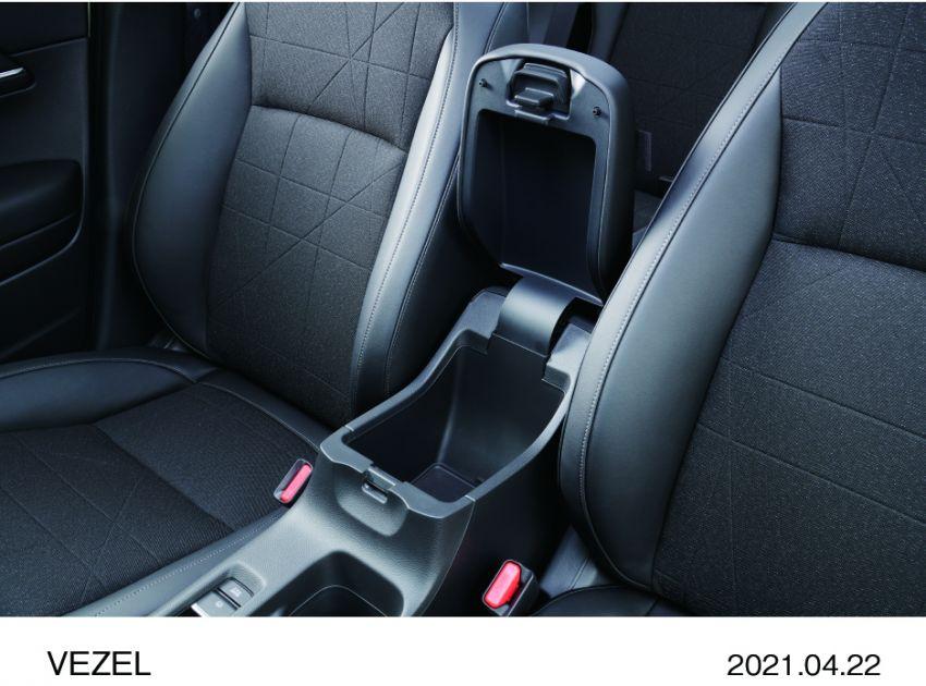 Honda HR-V 2022 rasmi dilancarkan di Jepun – bermula RM87k, pilihan enjin 1.5L NA dan hibrid e:HEV Image #1286278