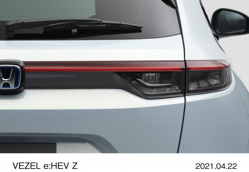 Honda HR-V 2022 rasmi dilancarkan di Jepun – bermula RM87k, pilihan enjin 1.5L NA dan hibrid e:HEV Image #1286280