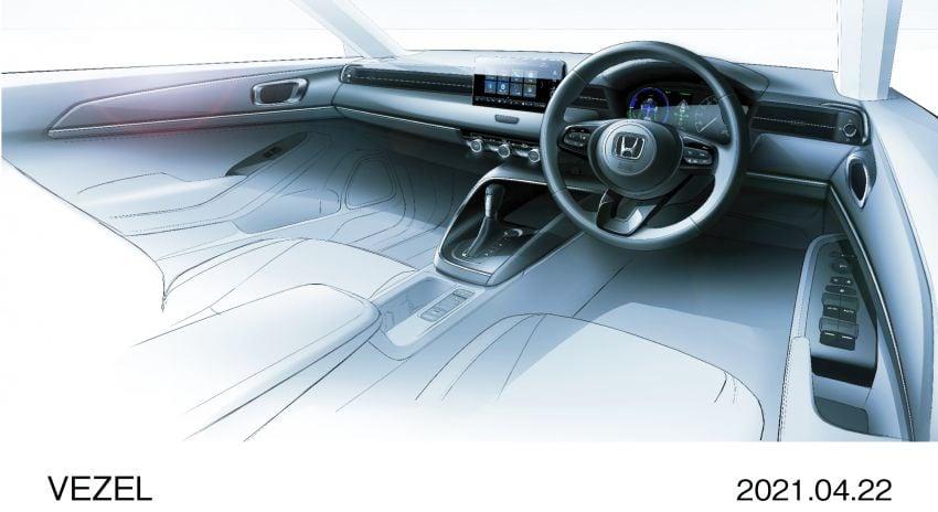 Honda HR-V 2022 rasmi dilancarkan di Jepun – bermula RM87k, pilihan enjin 1.5L NA dan hibrid e:HEV Image #1286281