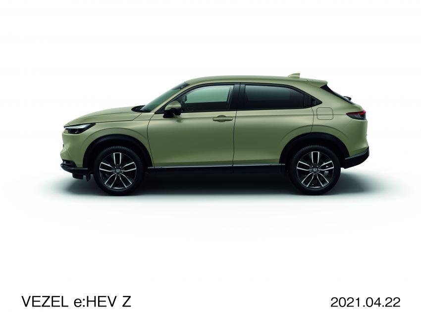 Honda HR-V 2022 rasmi dilancarkan di Jepun – bermula RM87k, pilihan enjin 1.5L NA dan hibrid e:HEV Image #1286202