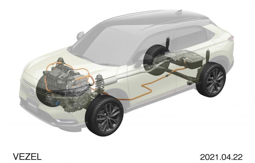 Honda HR-V 2022 rasmi dilancarkan di Jepun – bermula RM87k, pilihan enjin 1.5L NA dan hibrid e:HEV Image #1286286
