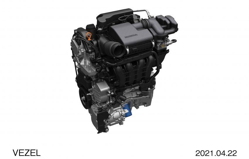 Honda HR-V 2022 rasmi dilancarkan di Jepun – bermula RM87k, pilihan enjin 1.5L NA dan hibrid e:HEV Image #1286287