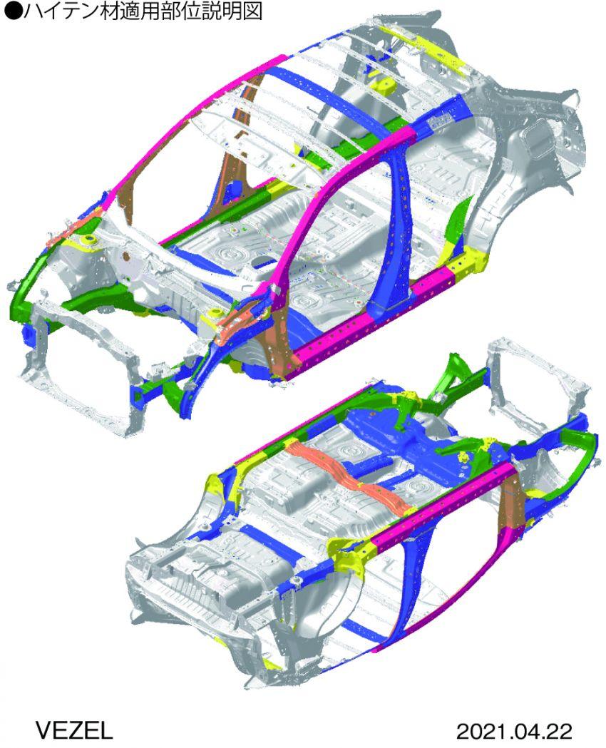 Honda HR-V 2022 rasmi dilancarkan di Jepun – bermula RM87k, pilihan enjin 1.5L NA dan hibrid e:HEV Image #1286291