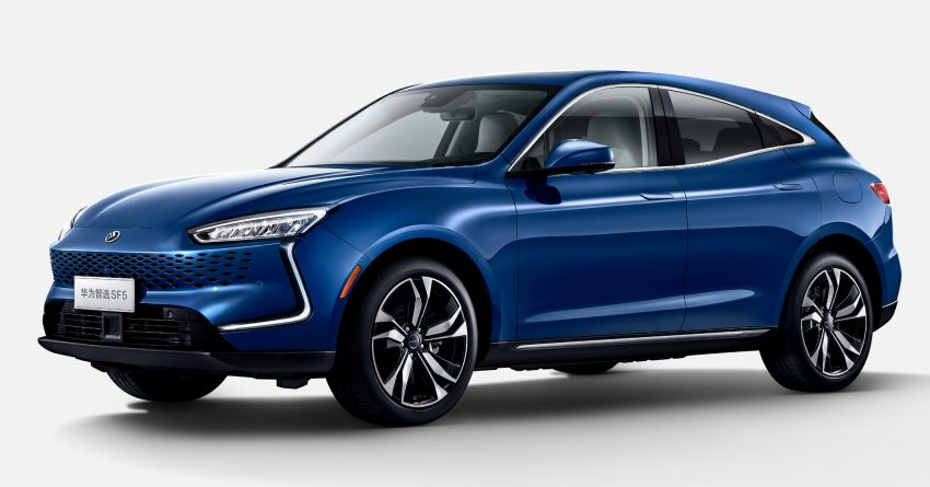 Huawei Seres SF5 debuts at Auto Shanghai – range-extended EV crossover with up to 1,000 km range Image #1284950