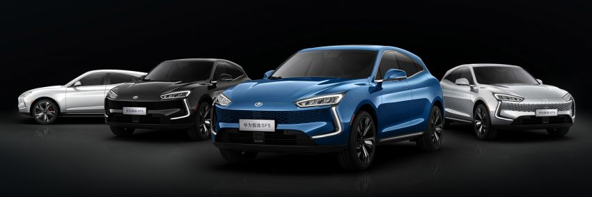 Huawei Seres SF5 debuts at Auto Shanghai – range-extended EV crossover with up to 1,000 km range Image #1284976