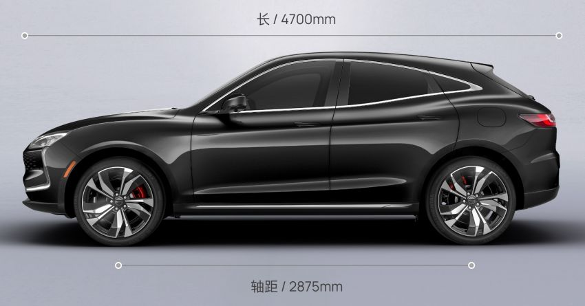 Huawei Seres SF5 debuts at Auto Shanghai – range-extended EV crossover with up to 1,000 km range Image #1284977