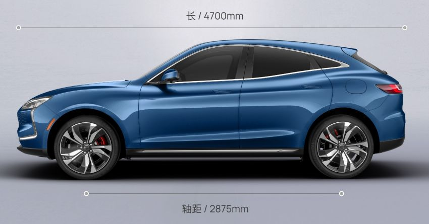 Huawei Seres SF5 debuts at Auto Shanghai – range-extended EV crossover with up to 1,000 km range Image #1284979