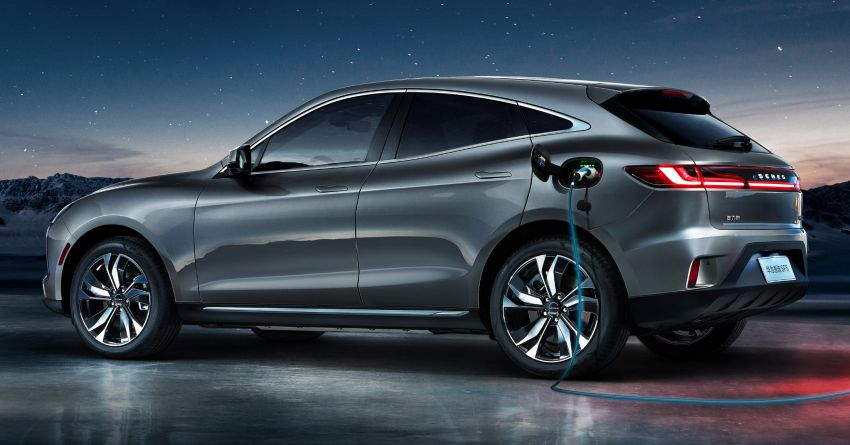 Huawei Seres SF5 debuts at Auto Shanghai – range-extended EV crossover with up to 1,000 km range Image #1284951
