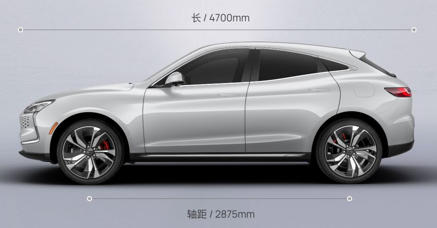 Huawei Seres SF5 debuts at Auto Shanghai – range-extended EV crossover with up to 1,000 km range Image #1284981