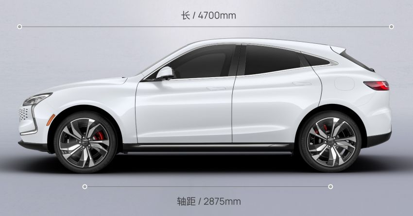 Huawei Seres SF5 debuts at Auto Shanghai – range-extended EV crossover with up to 1,000 km range Image #1284983