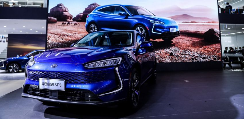 Huawei Seres SF5 debuts at Auto Shanghai – range-extended EV crossover with up to 1,000 km range Image #1284952