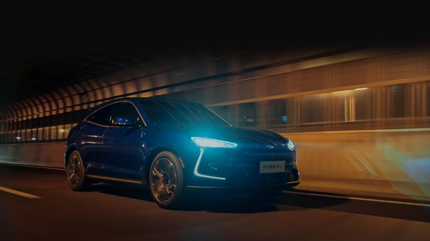 Huawei Seres SF5 debuts at Auto Shanghai – range-extended EV crossover with up to 1,000 km range Image #1284957
