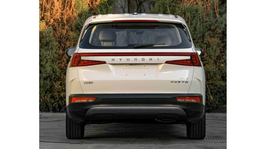 Hyundai Custo MPV leaked ahead of debut in China Image #1280260
