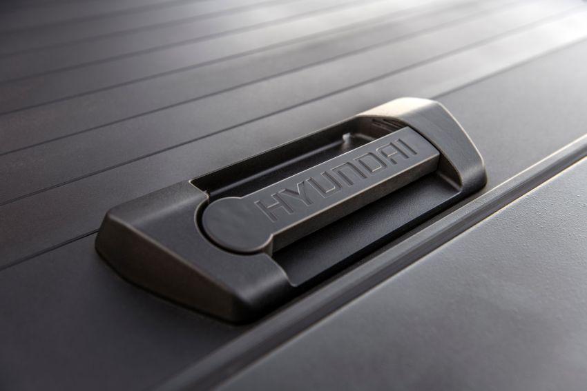 Hyundai Santa Cruz didedahkan – trak pikap dengan casis SUV, pilihan enjin petrol 2.5L NA dan Turbo Image #1280593