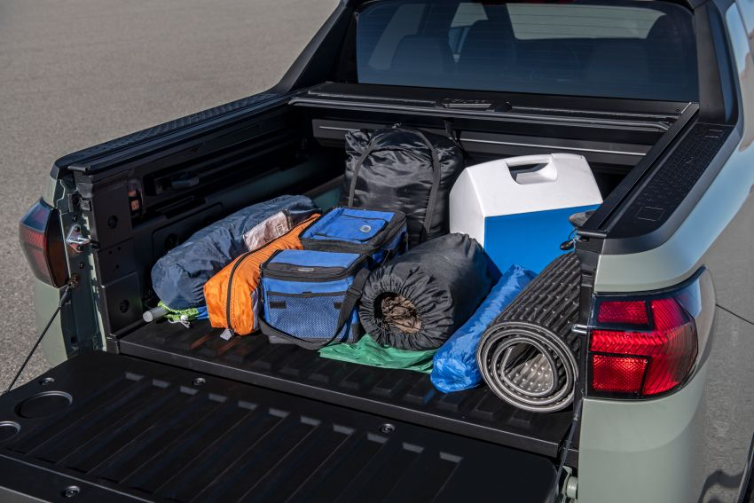 Hyundai Santa Cruz didedahkan – trak pikap dengan casis SUV, pilihan enjin petrol 2.5L NA dan Turbo Image #1280598
