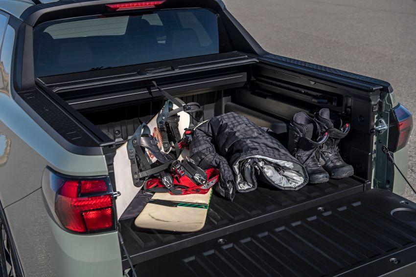 Hyundai Santa Cruz didedahkan – trak pikap dengan casis SUV, pilihan enjin petrol 2.5L NA dan Turbo Image #1280600