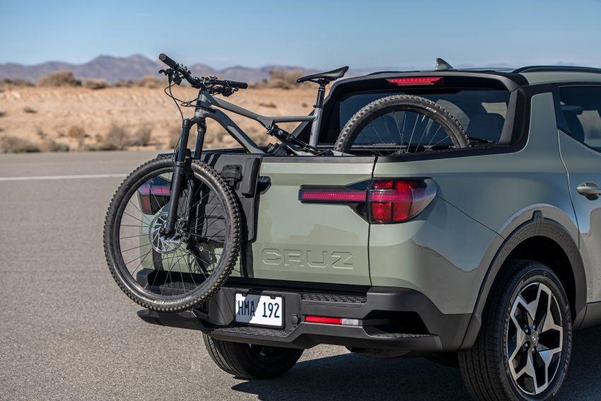 Hyundai Santa Cruz didedahkan – trak pikap dengan casis SUV, pilihan enjin petrol 2.5L NA dan Turbo Image #1280602