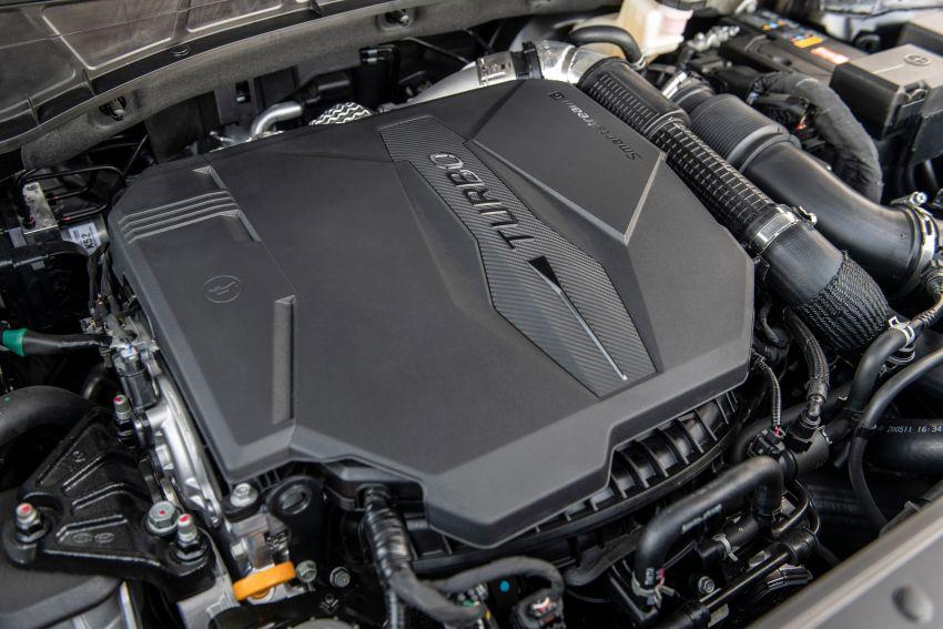 Hyundai Santa Cruz didedahkan – trak pikap dengan casis SUV, pilihan enjin petrol 2.5L NA dan Turbo Image #1280578
