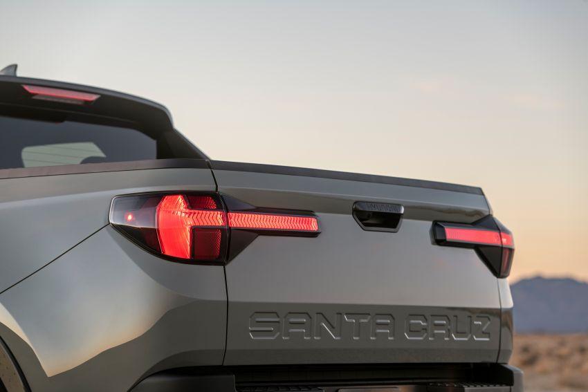 Hyundai Santa Cruz didedahkan – trak pikap dengan casis SUV, pilihan enjin petrol 2.5L NA dan Turbo Image #1280610