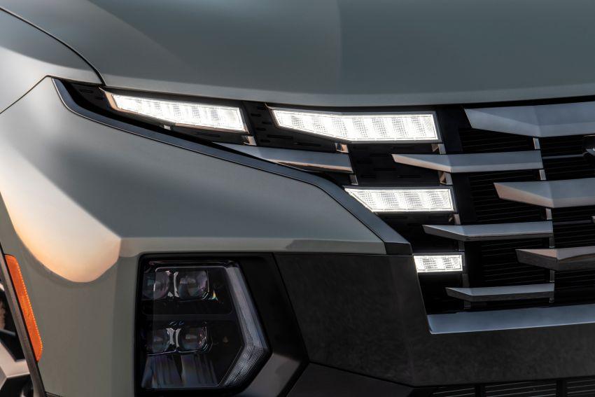 Hyundai Santa Cruz didedahkan – trak pikap dengan casis SUV, pilihan enjin petrol 2.5L NA dan Turbo Image #1280612