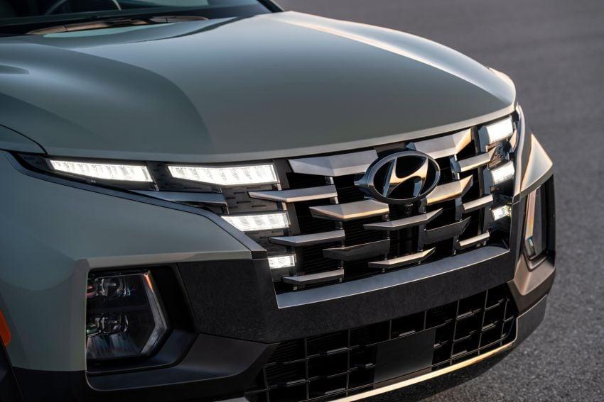 Hyundai Santa Cruz didedahkan – trak pikap dengan casis SUV, pilihan enjin petrol 2.5L NA dan Turbo Image #1280613