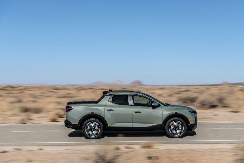 Hyundai Santa Cruz didedahkan – trak pikap dengan casis SUV, pilihan enjin petrol 2.5L NA dan Turbo Image #1280615