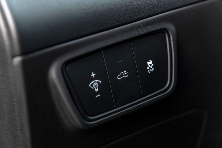 Hyundai Santa Cruz didedahkan – trak pikap dengan casis SUV, pilihan enjin petrol 2.5L NA dan Turbo Image #1280579