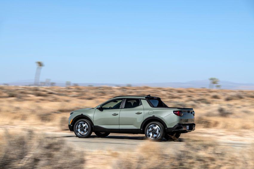 Hyundai Santa Cruz didedahkan – trak pikap dengan casis SUV, pilihan enjin petrol 2.5L NA dan Turbo Image #1280616