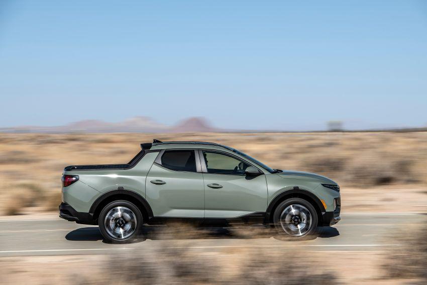 Hyundai Santa Cruz didedahkan – trak pikap dengan casis SUV, pilihan enjin petrol 2.5L NA dan Turbo Image #1280617
