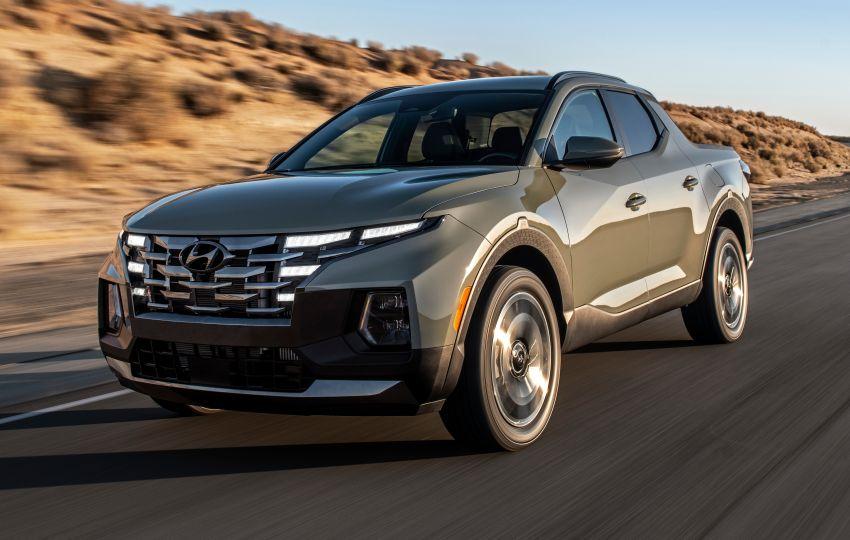 Hyundai Santa Cruz didedahkan – trak pikap dengan casis SUV, pilihan enjin petrol 2.5L NA dan Turbo Image #1280621