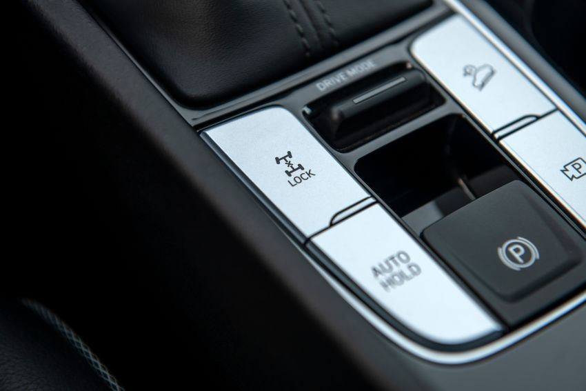 Hyundai Santa Cruz didedahkan – trak pikap dengan casis SUV, pilihan enjin petrol 2.5L NA dan Turbo Image #1280580