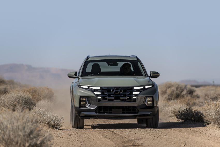 Hyundai Santa Cruz didedahkan – trak pikap dengan casis SUV, pilihan enjin petrol 2.5L NA dan Turbo Image #1280627