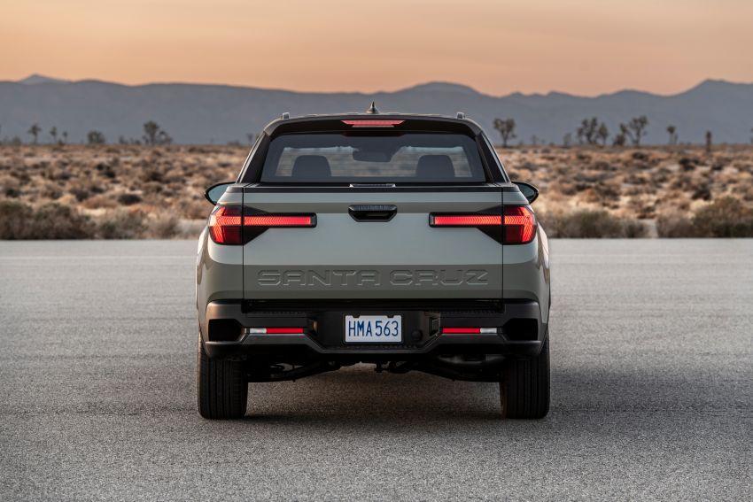 Hyundai Santa Cruz didedahkan – trak pikap dengan casis SUV, pilihan enjin petrol 2.5L NA dan Turbo Image #1280628