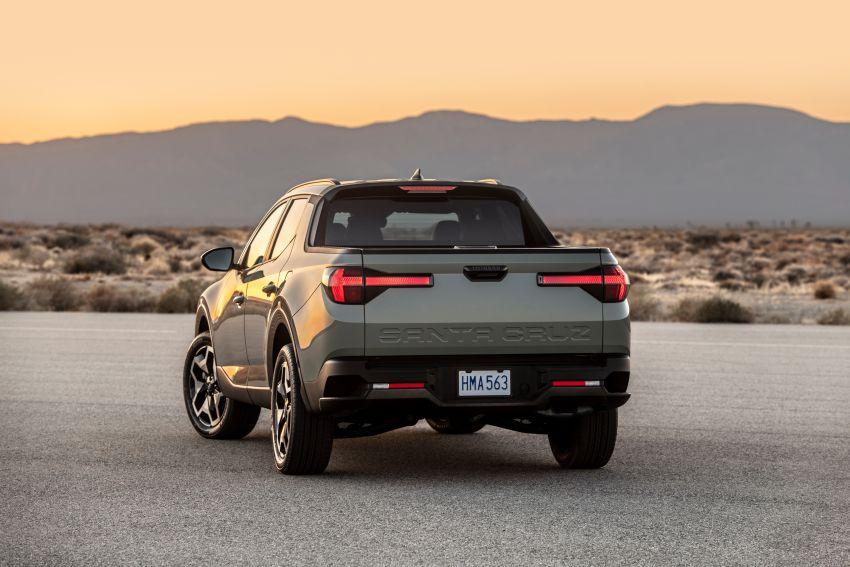 Hyundai Santa Cruz didedahkan – trak pikap dengan casis SUV, pilihan enjin petrol 2.5L NA dan Turbo Image #1280629