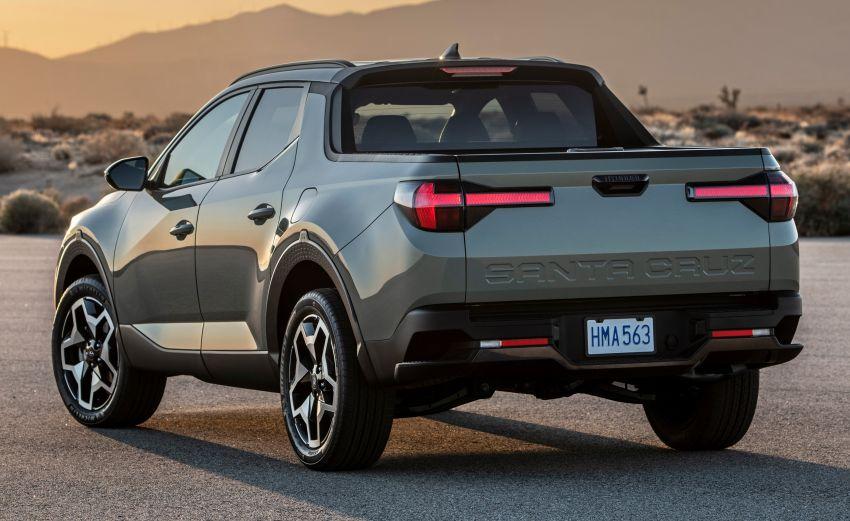 Hyundai Santa Cruz didedahkan – trak pikap dengan casis SUV, pilihan enjin petrol 2.5L NA dan Turbo Image #1280631