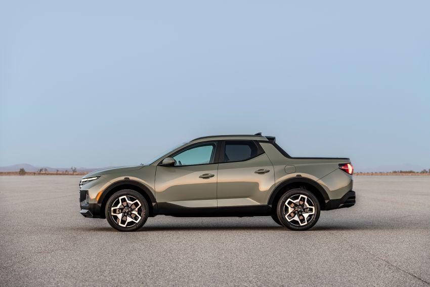 Hyundai Santa Cruz didedahkan – trak pikap dengan casis SUV, pilihan enjin petrol 2.5L NA dan Turbo Image #1280759