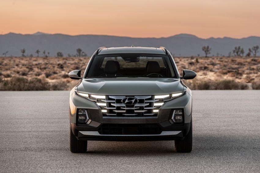Hyundai Santa Cruz didedahkan – trak pikap dengan casis SUV, pilihan enjin petrol 2.5L NA dan Turbo Image #1280762