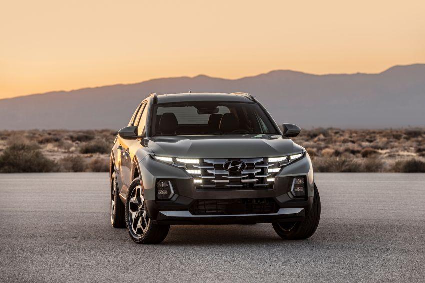 Hyundai Santa Cruz didedahkan – trak pikap dengan casis SUV, pilihan enjin petrol 2.5L NA dan Turbo Image #1280763
