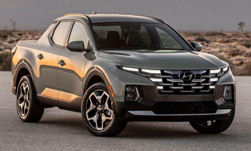 Hyundai Santa Cruz didedahkan – trak pikap dengan casis SUV, pilihan enjin petrol 2.5L NA dan Turbo Image #1280764