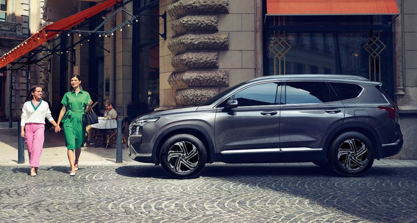 2021 Hyundai Santa Fe facelift launched in Indonesia – 2.5L NA petrol, 2.2L turbodiesel, FWD, from RM162k Image #1276118