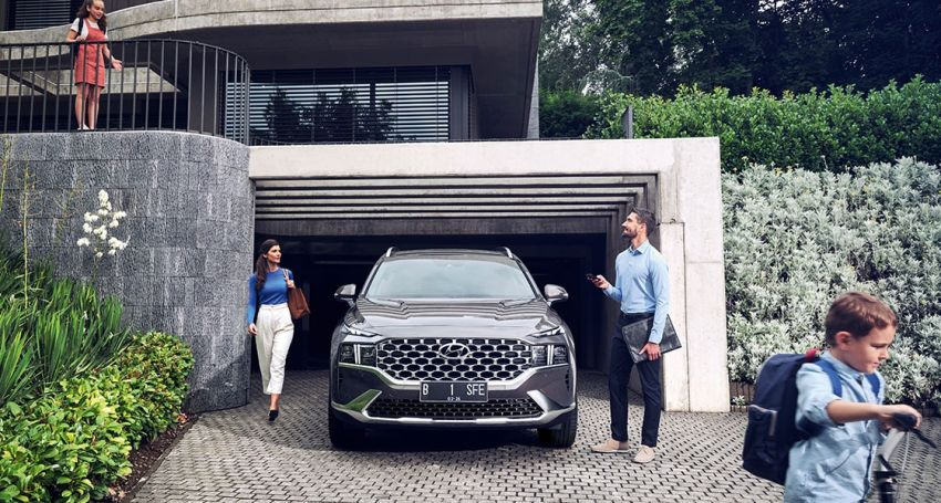 2021 Hyundai Santa Fe facelift launched in Indonesia – 2.5L NA petrol, 2.2L turbodiesel, FWD, from RM162k Image #1276121