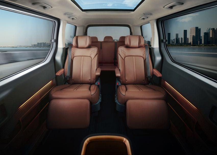 Hyundai Staria – perincian didedahkan; lebih besar dari Starex, pilihan enjin petrol V6 dan turbodiesel Image #1278506