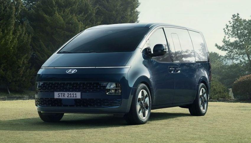 Hyundai Staria – perincian didedahkan; lebih besar dari Starex, pilihan enjin petrol V6 dan turbodiesel Image #1278504