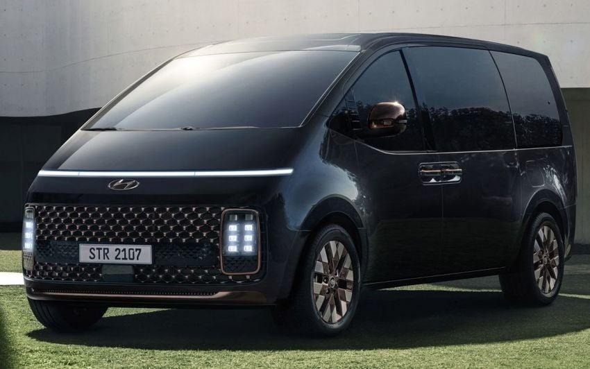 Hyundai Staria – perincian didedahkan; lebih besar dari Starex, pilihan enjin petrol V6 dan turbodiesel Image #1278513