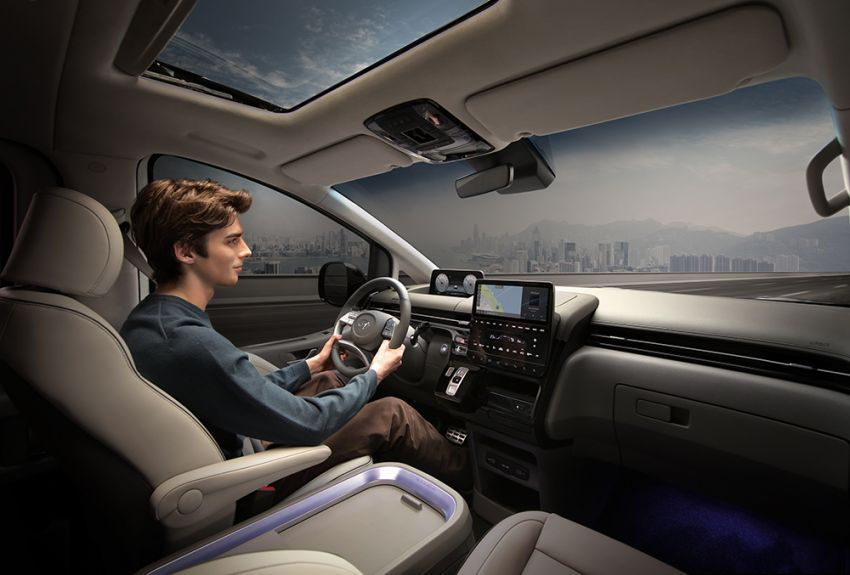 Hyundai Staria – perincian didedahkan; lebih besar dari Starex, pilihan enjin petrol V6 dan turbodiesel Image #1278509