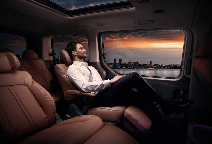 Hyundai Staria – perincian didedahkan; lebih besar dari Starex, pilihan enjin petrol V6 dan turbodiesel Image #1278508